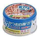箱売り いなば CIAO 乳酸菌 かつお白身 かつおだし仕立て 85g 1箱24缶入り