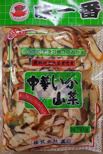 味一番 中華いか山菜 500g×20P 冷凍 業務用