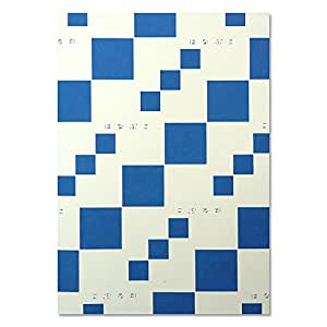 HANABUSA(はなぶさ) B6 ホワイトノート ブルー