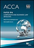 Cover of Acca - F4 Corp and Business Law (Eng)