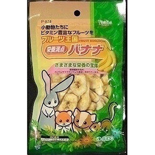 (まとめ買い)スドー フルーツ王国 栄養満点バナナ 75g 【×10】