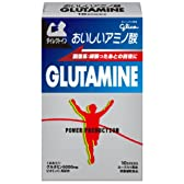 グリコ パワープロダクション おいしいアミノ酸 グルタミンスティックパウダー 回復系アミノ酸 ヨーグルト風味  1本(5.4g) 10本