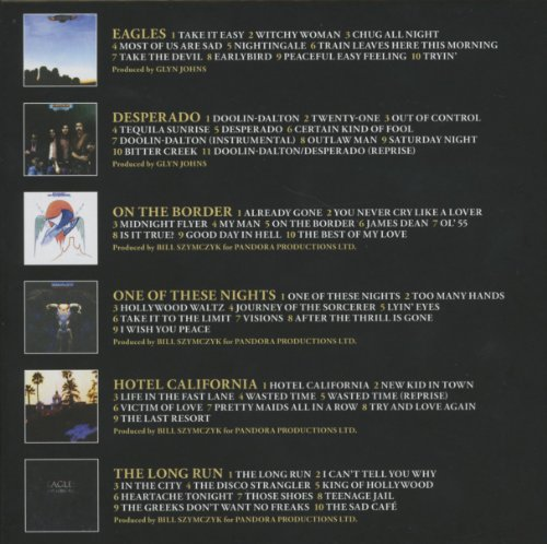 Eagles Studio Albums 1972-1979 Eagles Elektra / Wea