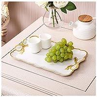 YLGROUP フルーツボウルメラミンカップティーセットフルーツケーキ食器用多目的トレイ家庭用フルーツプレート -02365 (サイズ さいず : A)