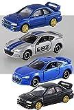 4台セット トミカ トミカプレミアム スバル インプレッサ 22B STI タカラトミーモール限定 + NO.15通常モデル+ NO.120 BRZ + BRZ トミカ博 イベントモデル