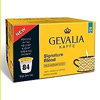 Doaaler ( TM ) Gevalia Single Serve Coffee Cup署名ブレンド84CT–ブランド新しいアイテム