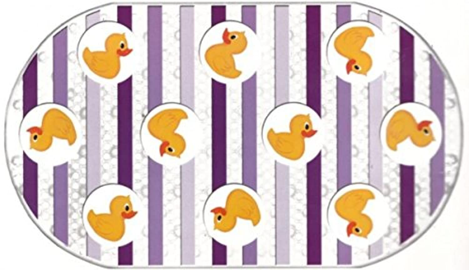 Rubber Duck Printed Bubble Bathtub Mat - 16 X 28 by Better Home