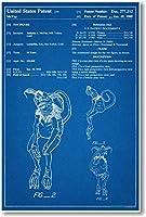 STAR WARS Salicious Crumb Patent–新しい有名な発明青写真ポスター