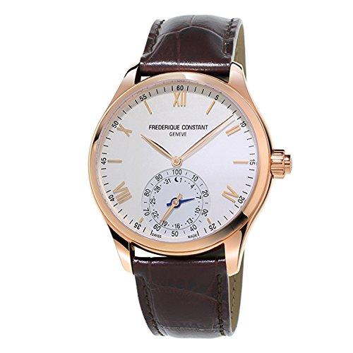 フレデリック・コンスタント クラシック インデックス オルロジカル スマートウォッチ FC-285V5B4 シルバー メンズ 腕時計