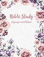Bible Study Organizer and Notebook: Daily Scripture Journal with Prompt Questions