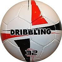 Dribbling、 – フットサルインドアサッカーボール – サイズ4 – ホワイト