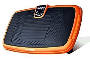 EasyChange ぶるぶる振動マシン 300W PSE認証済 3D振動 (オレンジver2)