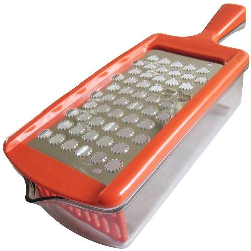 ARTIS(アルティス) ステンレス製おろし器 おろしぼり オレンジ
