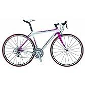 MERIDA(メリダ) SCULTURA EVO 905 JULIET-COM 700C 女性用ロードバイク 47cm ホワイト/フローラルピンク カーボンフレーム/Shimano 105/フロント2速×リア10速 AMR95-472J-EWP2
