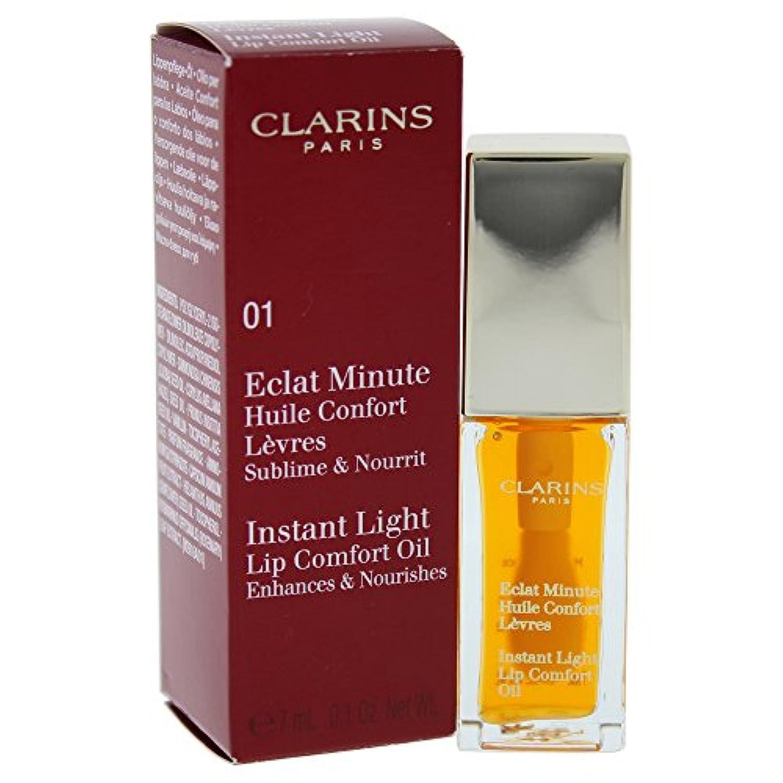 クラランス エクラミニット インスタント ライトアップ コンフォートオイル - # 01 Honey 7ml/0.1oz並行輸入品