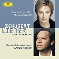 Schubert Lieder With Orchestra by VON OTTER / QUASTHOFFCHAMBER ORCH OF EUROPE / ABBADO (2003-10-10)