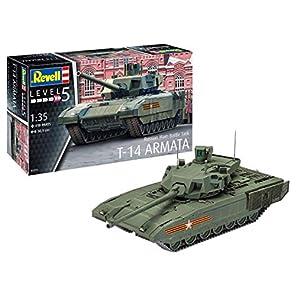 ドイツレベル 1/35 ロシア陸軍 主力戦車 T-14アルマータ プラモデル 03274
