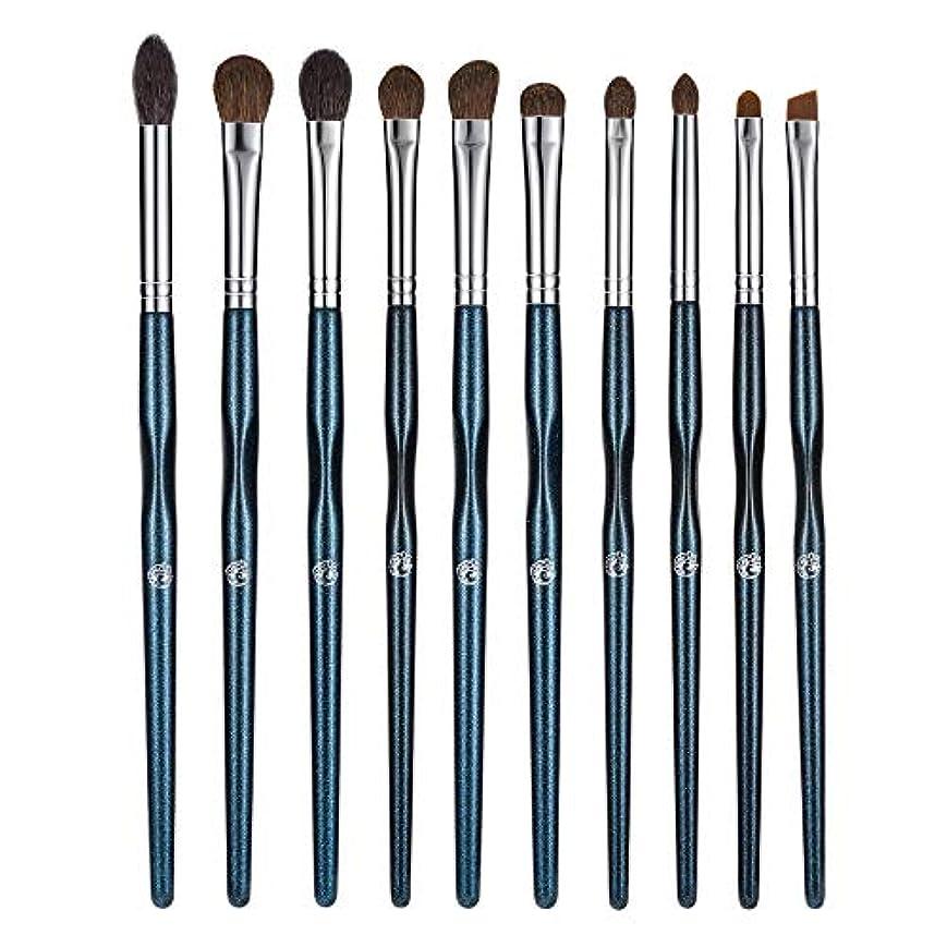 交換可能後退するヒントENERGY 化粧筆 高級天然毛 アイシャドウブラシセット 10本 上質なメイクブラシで魅力的な目元を