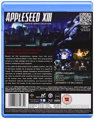 Appleseed Xiii-Complete Series Collection [Blu-ray] [Import]