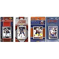 NHLニューヨークIslanders 4異なるライセンスTradingカードチームセット、ブラウン、1サイズ