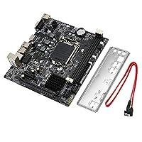 プロフェッショナル H61 デスクトップコンピュータ メインボード マザーボード 1155 ピン CPU インターフェース アップグレード USB2.0 DDR3 1600/1333