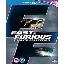 Fast & Furious 1-7 [Blu-ray] [Region Free]