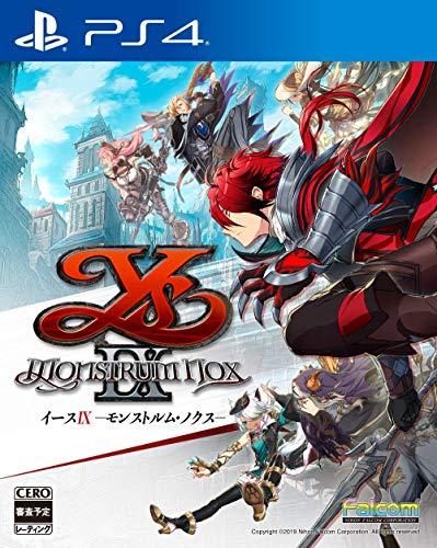イースIX -Monstrum NOX- 【初回限定特典】『イースIX オリジナルサウンドトラックミニ CODE:RED』付 - PS4