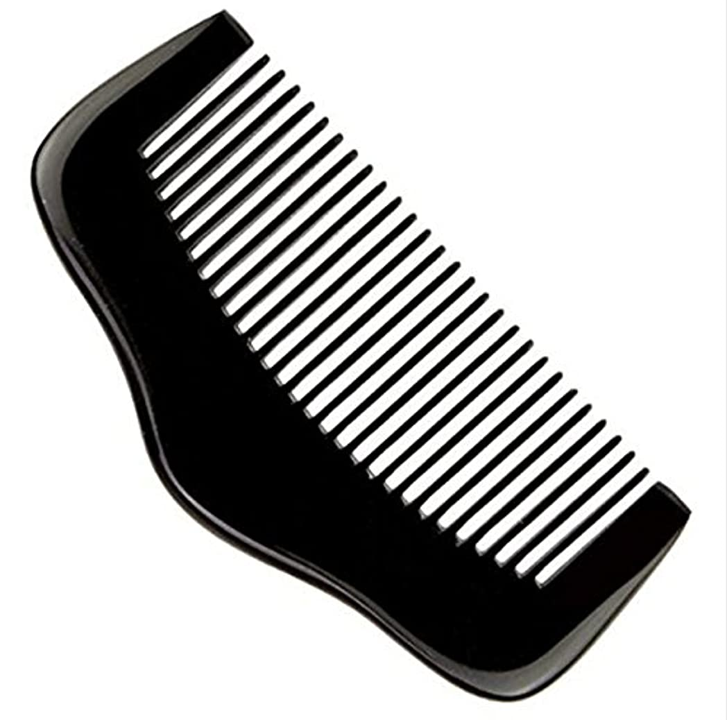 距離インスタンス起きる櫛型 プロも使う牛角かっさプレート マサージ用 血行改善 高級 天然 静電気 防止 美髪美顔 ボディ リンパマッサージ