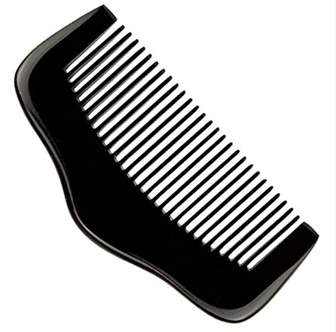 マニュアル主要な酒櫛型 プロも使う牛角かっさプレート マサージ用 血行改善 高級 天然 静電気 防止 美髪美顔 ボディ リンパマッサージ
