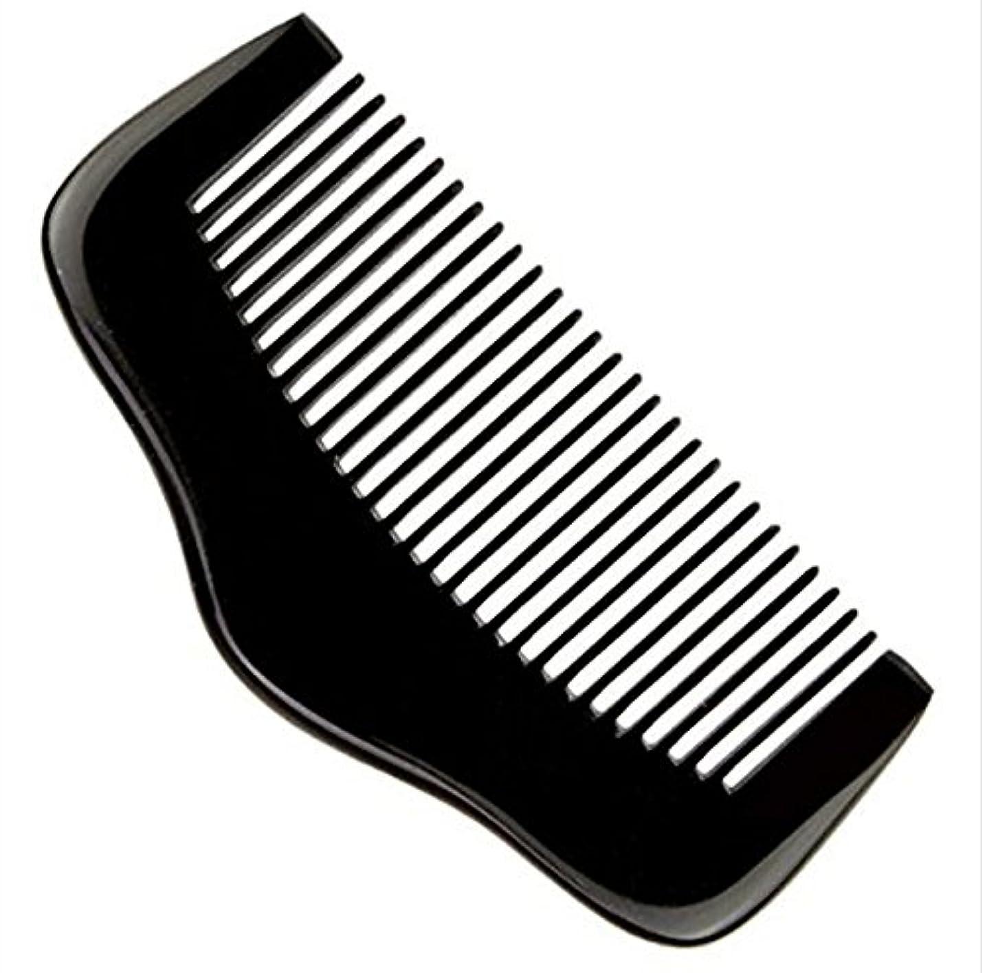 鋭く電話をかけるファイター櫛型 プロも使う牛角かっさプレート マサージ用 血行改善 高級 天然 静電気 防止 美髪美顔 ボディ リンパマッサージ