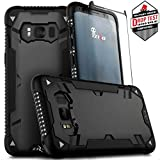 Zizo ジゾウ Galaxy S8用プロトン2.0ケース Proton 2.0 Case [Military Grade Drop Tested] with Tempered Glass Screen Protector for Galaxy S8 Black/Solid Black ブラック/ソリッドブラック[並行輸入]