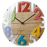 壁掛け時計 ラヴァン CL-8335 [ミックス]