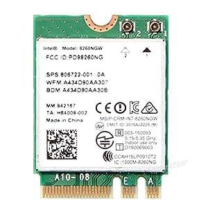 Econlineshop Intel Dual Band Wireless-AC 8260 8260NGW M.2 802.11AC 867 デュアルバンド 無線LANカード 8260NGW