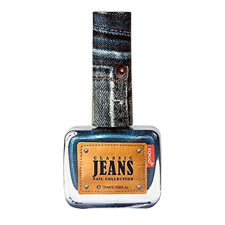 シンプトン姪送ったジーンズネイルポリッシュ (Turkey Blue Jeans(ターキーブルージーンズ))