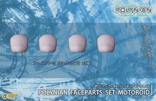 ポリニアン フェイスパーツセット モートロイド ノンスケール PVC&ABS製 塗装済み完成品