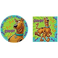 Scooby-Doo Where Are You! Dinner Plates and Napkins [並行輸入品]