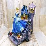 シンデレラ Cinderella 城 ガラスの靴 チャーミング王子 スノーグローブ スノードーム オルゴール フィギュアディズニー TDL置物
