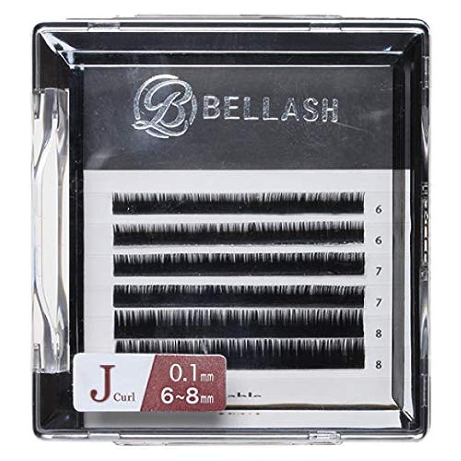 【全4種】 BELLASH セーブル下まつ毛ュ (C?Jカール) Jカール /太さ0.1mm/長さ6~8mmMIX 6列 [ シートラッシュ アイラッシュ エクステンション アイラッシュ つけまつげ 人工まつげ エクステ...