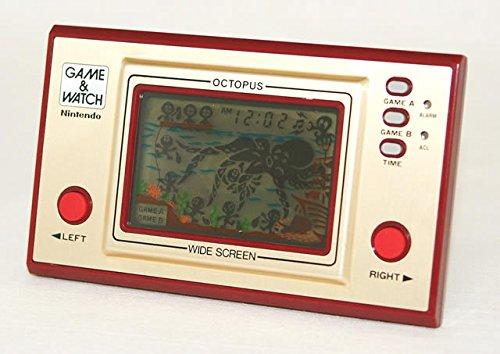 任天堂 Nintendo OC-22 オクトパス(OCTOPUS) GAME&WATCH ゲーム&ウォッチ(ゲームウォッチ)ワイドスクリーン