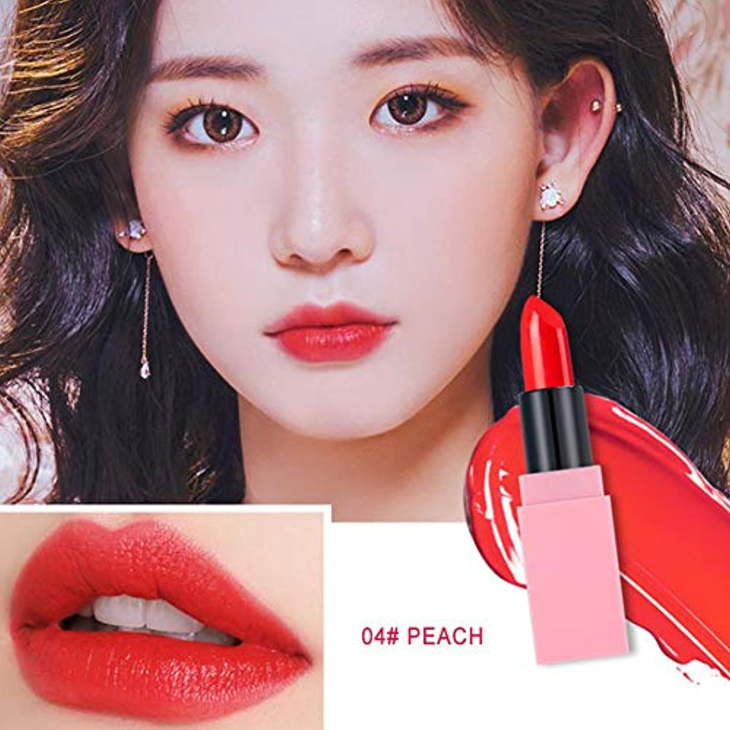 カウンタ泣くヒロイック口紅、Spring Makeup Cherry Blossom Colorinaのためのロマンチックな桜の口紅。