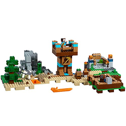 LEGO Minecraft The Crafting Box 2.0 21135建物キット( 717 Piece )