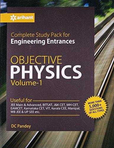 [画像:Objective Physics for Engineering Entrances - Vol. 1 [Paperback] [Jan 01, 2017] D C Pandey]