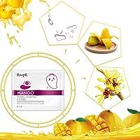 Mango Vitamin C Hydrating Eye Care Eye Masks Moisturizing Anti-Wrinkle Black Circles Eye Bag Remover Eye Patches