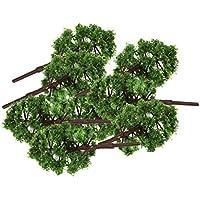 Beito 樹木 モデルツリー 20本 鉄道模型 ジオラマ 箱庭