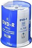 VERTEX ヴァーテックス DVD-R 地上デジタル放送録画用 120分/4.7GB 16倍速 100枚スピンドルケース DR-120DVX.100SN
