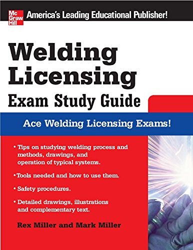 Download Welding Licensing Exam Study Guide (McGraw-Hill's Welding Licensing Exam Study Guide) (English Edition) B00938Y2CM