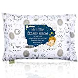 KeaBabies Toddler Pillow With Pillowcase - 13X18 Soft Organic Cotton Baby Pillows For Sleeping - Washable And Hypoallergenic - Toddlers, Kids, Infant - For Travel, Toddler Cot, Bed Set (Kea Safari)