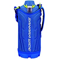 タイガー 水筒 1.0L サハラ ステンレスボトル スポーツ 直飲み 広口 ブルー MME-E100AN
