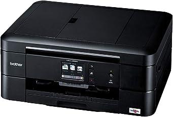 ブラザー プリンター A4 インクジェット複合機 MFC-J898N (FAX/ADF/有線・無線LAN/手差しトレイ/両面印刷/レーベル印刷)