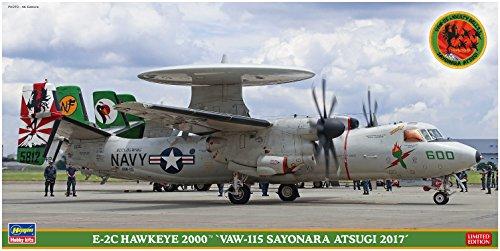 ハセガワ 1/72 アメリカ海軍 E-2C ホークアイ2000 VAW-115 さよなら厚木 2017 プラモデル SP363